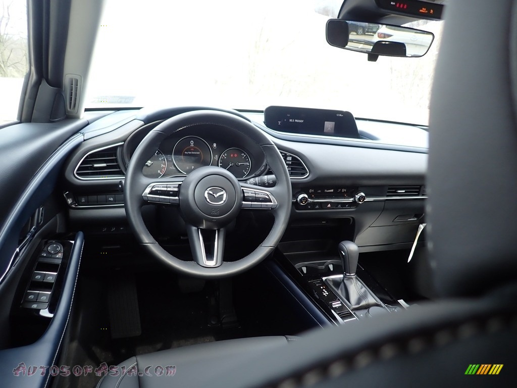 2021 CX-30 Preferred AWD - Machine Gray Metallic / Black photo #9
