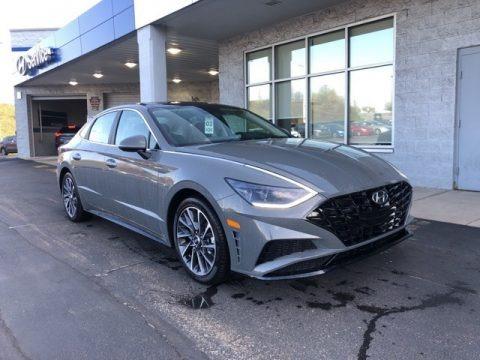 Hampton Gray 2021 Hyundai Sonata Limited