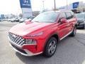 Hyundai Santa Fe SEL AWD Calypso Red photo #5