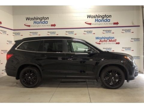 Crystal Black Pearl 2021 Honda Pilot Special Edition AWD