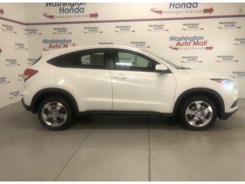 Platinum White Pearl 2021 Honda HR-V EX-L AWD