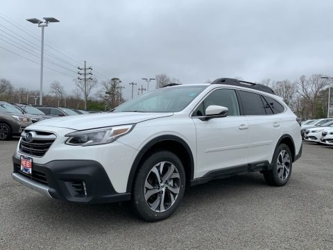 Crystal White Pearl 2021 Subaru Outback Limited XT
