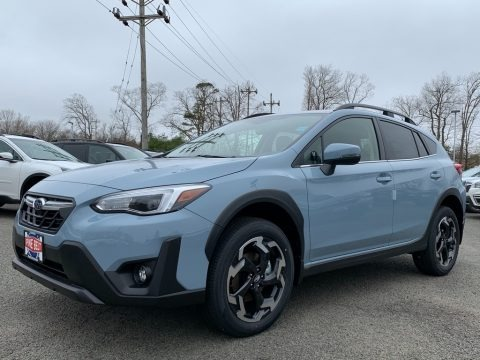 Cool Gray Khaki 2021 Subaru Crosstrek Limited