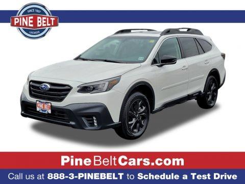 Crystal White Pearl 2021 Subaru Outback Onyx Edition XT