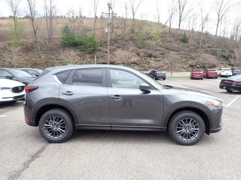 Machine Gray Metallic 2021 Mazda CX-5 Touring AWD