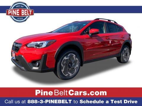 Pure Red 2021 Subaru Crosstrek Limited