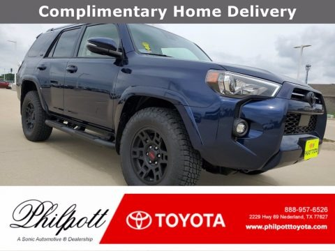 Nautical Blue Metallic 2021 Toyota 4Runner SR5 Premium