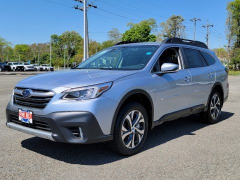 Ice Silver Metallic 2021 Subaru Outback 2.5i Limited