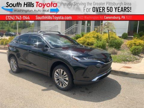 Celestial Black 2021 Toyota Venza Hybrid Limited AWD