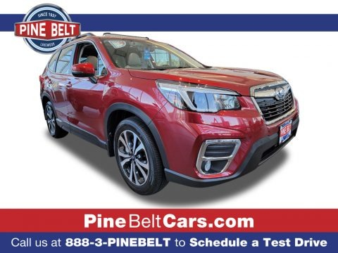 Crimson Red Pearl 2021 Subaru Forester 2.5i Limited