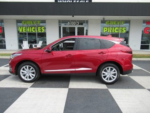 Performance Red Pearl 2021 Acura RDX FWD