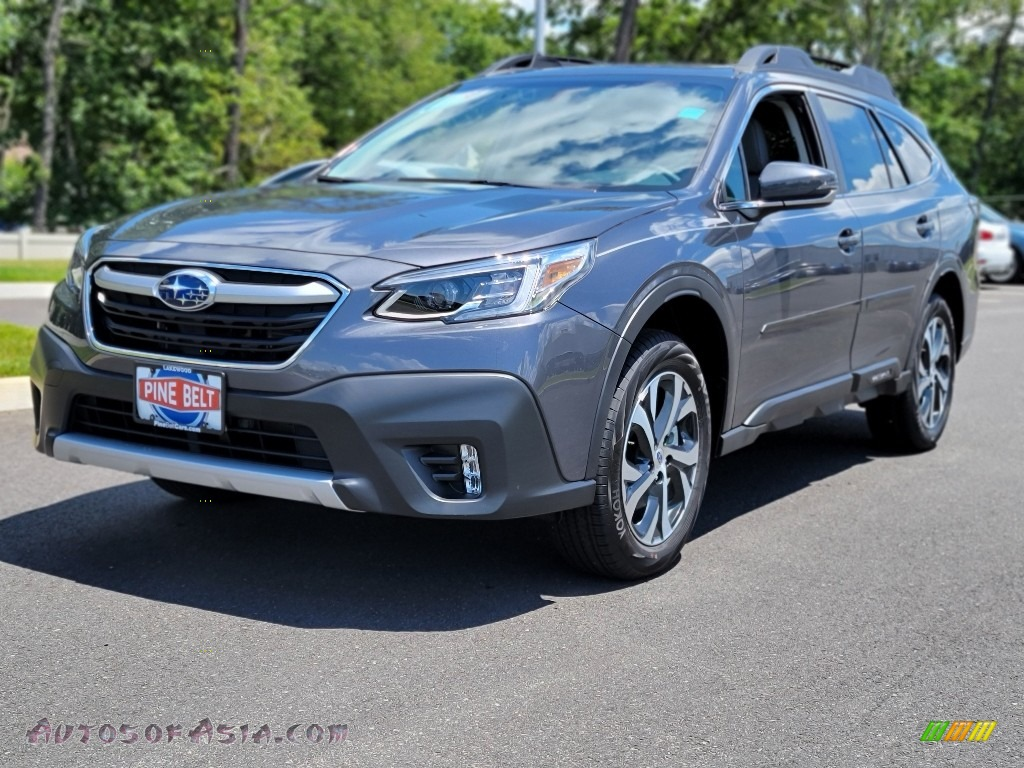 2021 Outback 2.5i Limited - Magnetite Gray Metallic / Gray photo #1