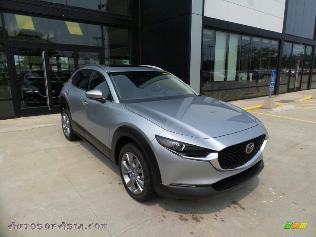 2021 CX-30 Premium AWD - Sonic Silver Metallic / Black photo #1