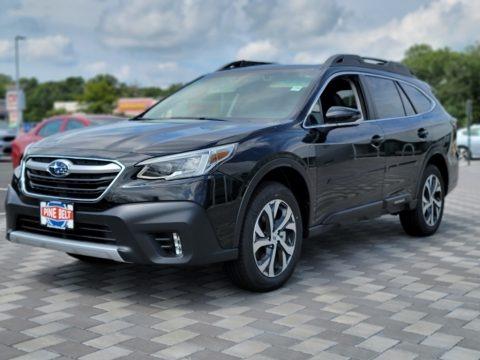 Crystal Black Silica 2022 Subaru Outback 2.5i Limited