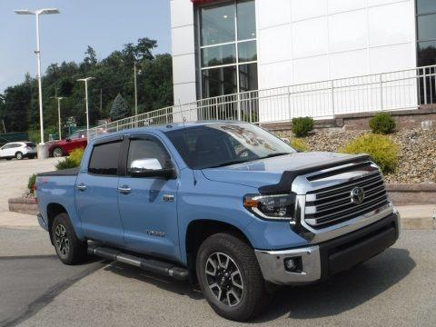 Cavalry Blue 2019 Toyota Tundra Limited CrewMax 4x4