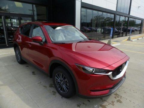 Soul Red Crystal Metallic 2021 Mazda CX-5 Touring AWD
