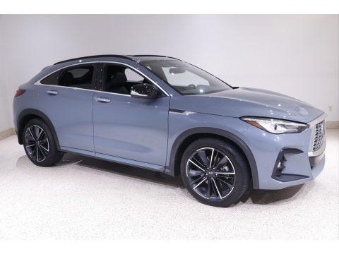 Slate Gray 2022 Infiniti QX55 Luxe AWD