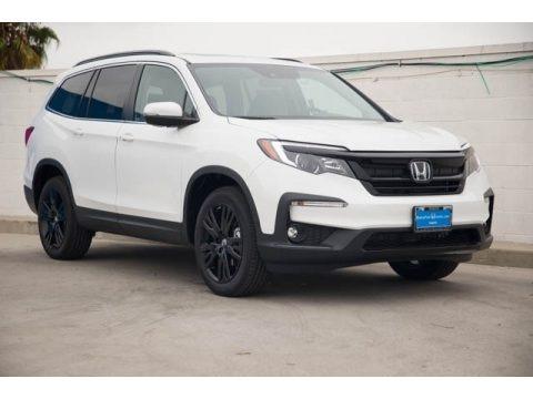 Platinum White Pearl 2022 Honda Pilot Special Edition