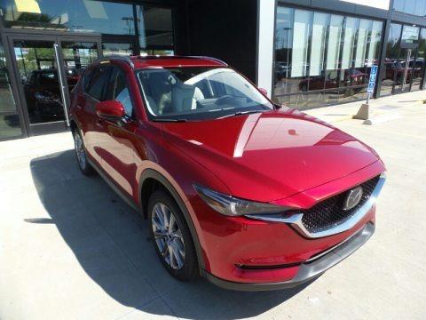 Soul Red Crystal Metallic 2021 Mazda CX-5 Grand Touring Reserve AWD