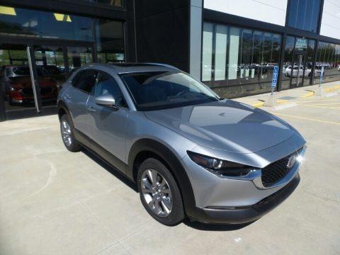 Sonic Silver Metallic 2021 Mazda CX-30 Premium AWD