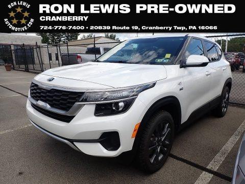 Snow White Pearl 2021 Kia Seltos LX AWD