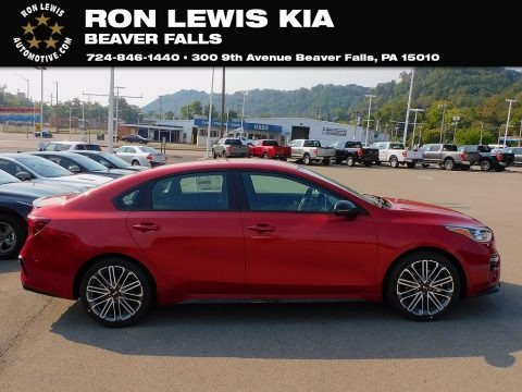 Currant Red 2021 Kia Forte GT