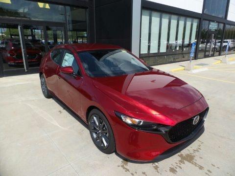 Soul Red Crystal Metallic 2021 Mazda Mazda3 Select Hatchback AWD