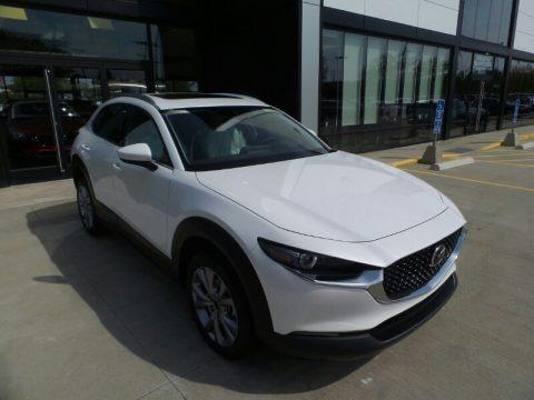 Snowflake White Pearl Mica 2021 Mazda CX-30 Premium AWD