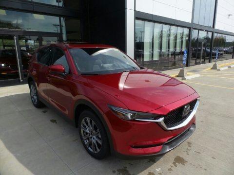 Soul Red Crystal Metallic 2021 Mazda CX-5 Signature AWD