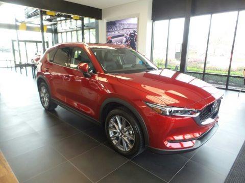 Soul Red Crystal Metallic 2021 Mazda CX-5 Grand Touring AWD