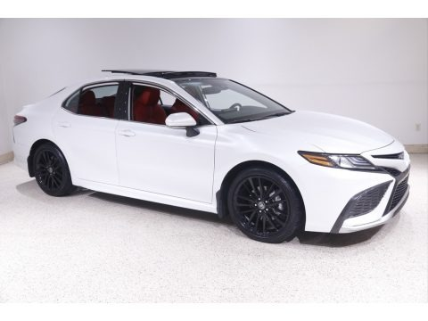Wind Chill Pearl 2021 Toyota Camry XSE