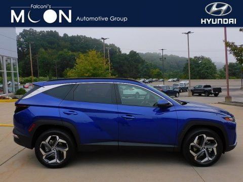 Intense Blue 2022 Hyundai Tucson SEL AWD