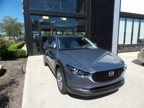 Polymetal Gray Metallic 2021 Mazda CX-30 Premium AWD