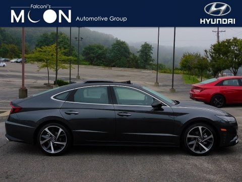 Portofino Gray 2022 Hyundai Sonata SEL Plus