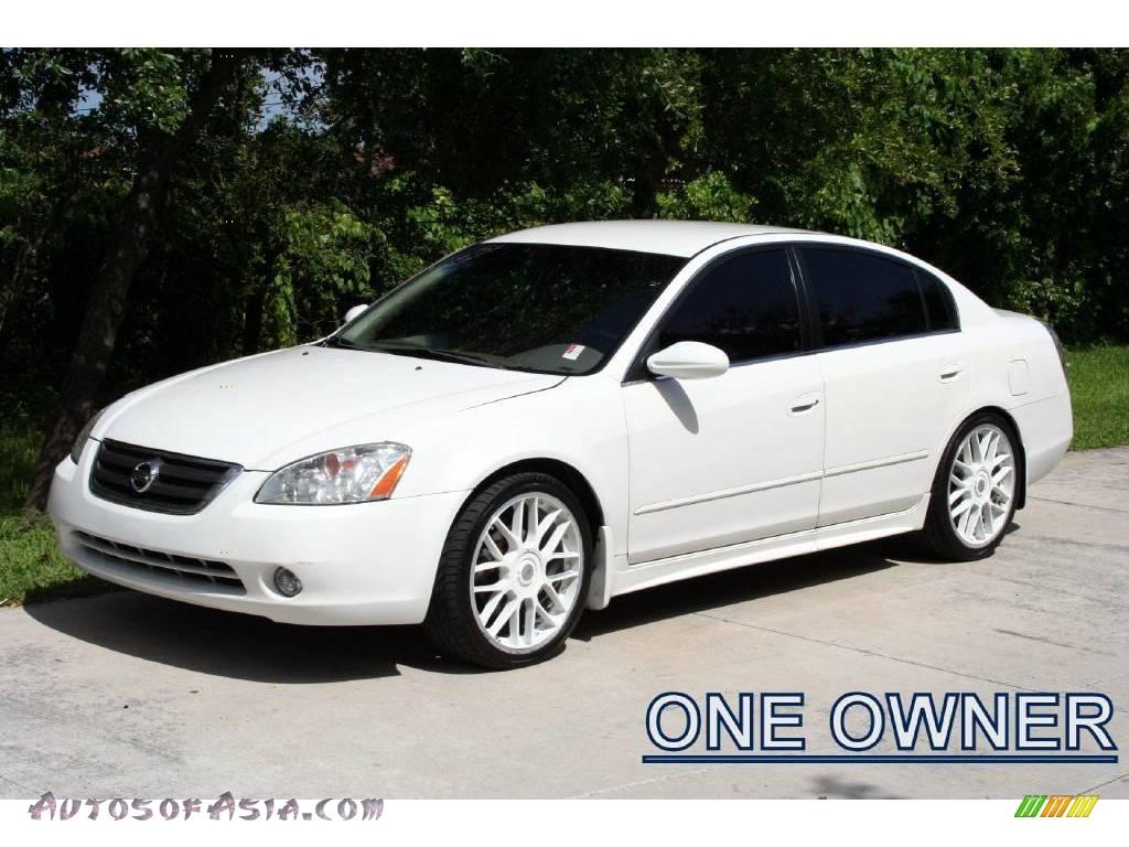 2003 Nissan Altima 2 5 S In Satin White Pearl 128372