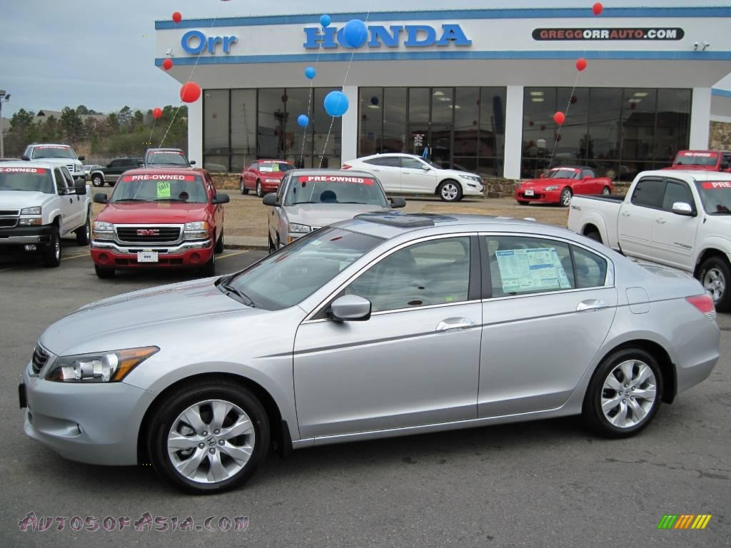 2010 Honda Accord Ex L V6 Sedan In Alabaster Silver Metallic 006580 Autos Of Asia Japanese