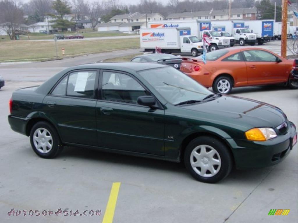 1999 mazda protege lx in emerald mica - 148483 | autos of asia