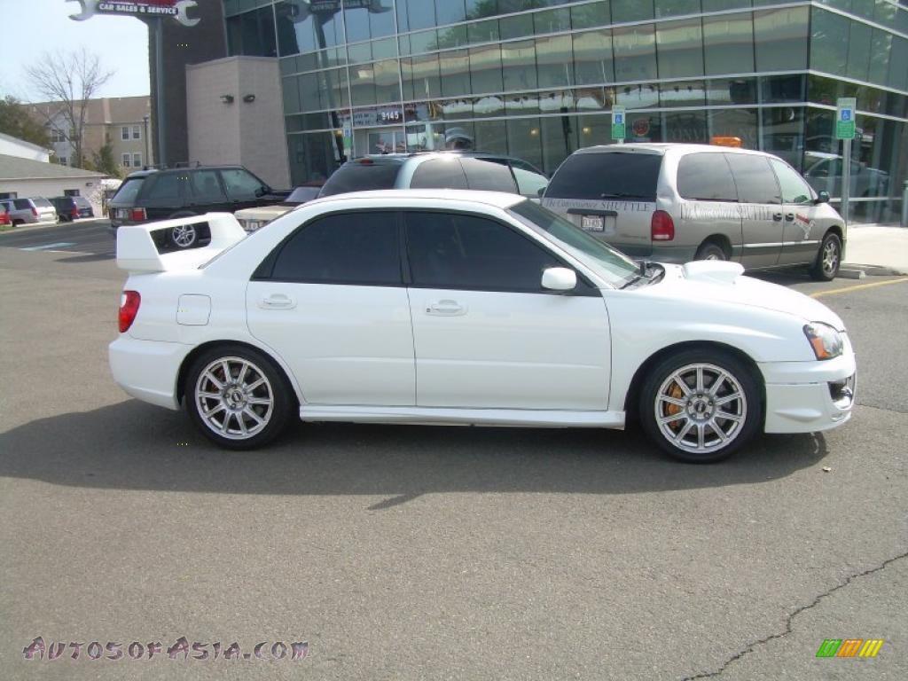 2005 Subaru Impreza Wrx Sti In Aspen White 519001