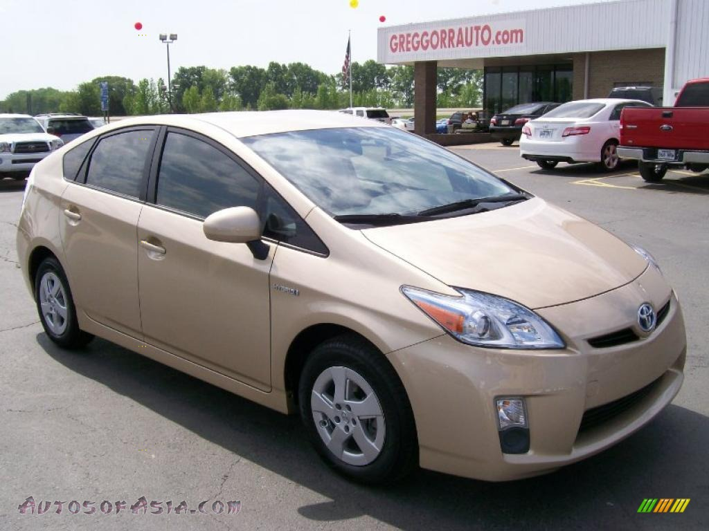 Orr Toyota Searcy >> 2010 Toyota Prius Hybrid III in Sandy Beach Metallic - 149152   Autos of Asia - Japanese and ...
