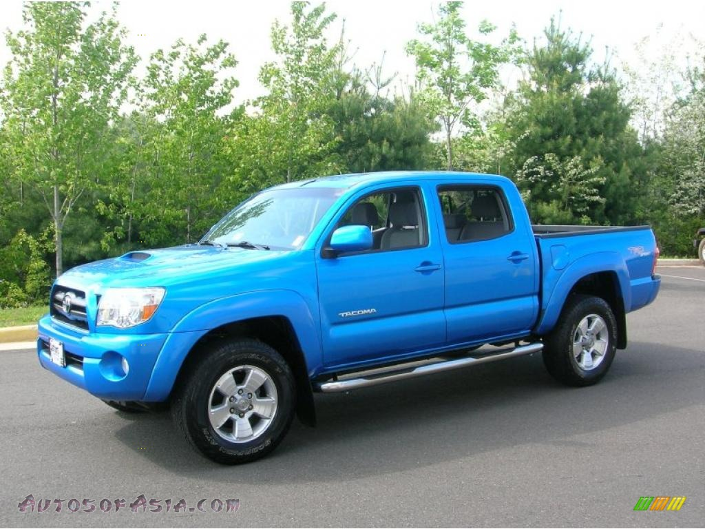 2008 toyota tacoma v6 trd sport double cab 4x4 in speedway blue 558315 autos of asia. Black Bedroom Furniture Sets. Home Design Ideas