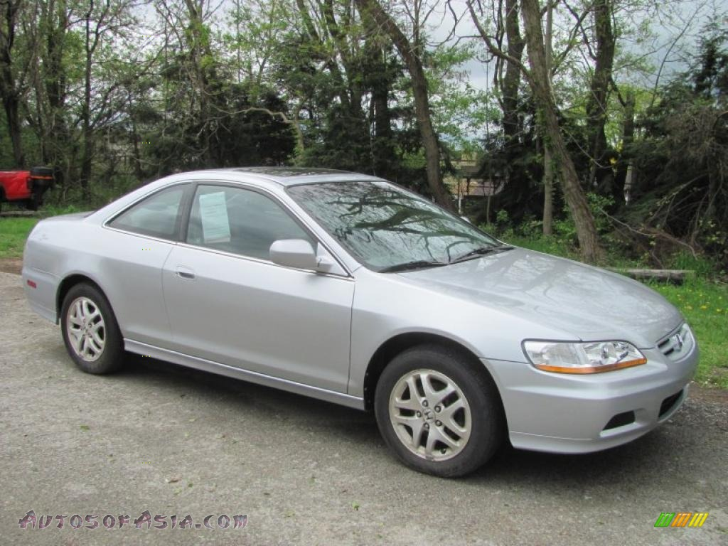 2002 Honda Accord Ex V6 Coupe In Satin Silver Metallic 030905 Autos Of Asia Japanese And