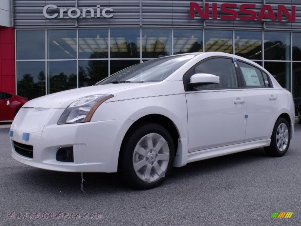 2010 Nissan Sentra 2.0 SR in Aspen White - 683036 | Autos ...