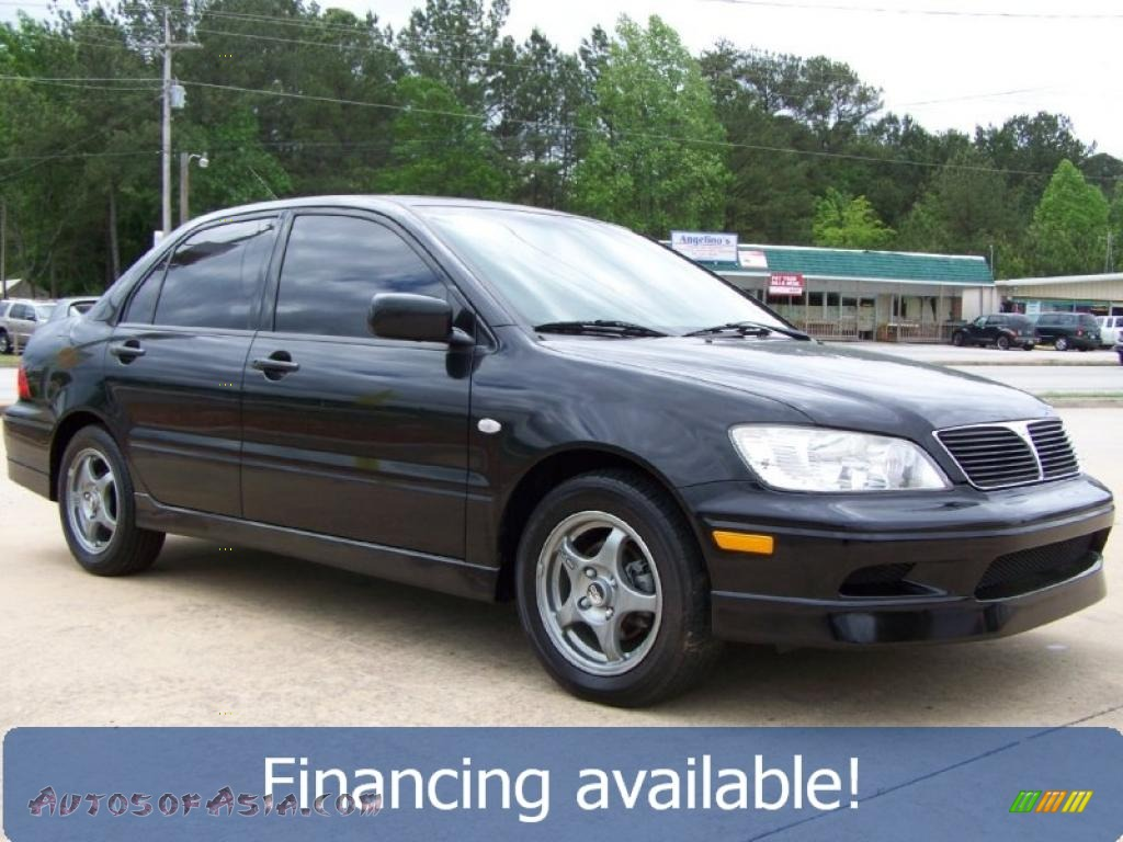 2003 mitsubishi lancer oz rally in labrador black pearl 050005 autos of asia japanese and. Black Bedroom Furniture Sets. Home Design Ideas