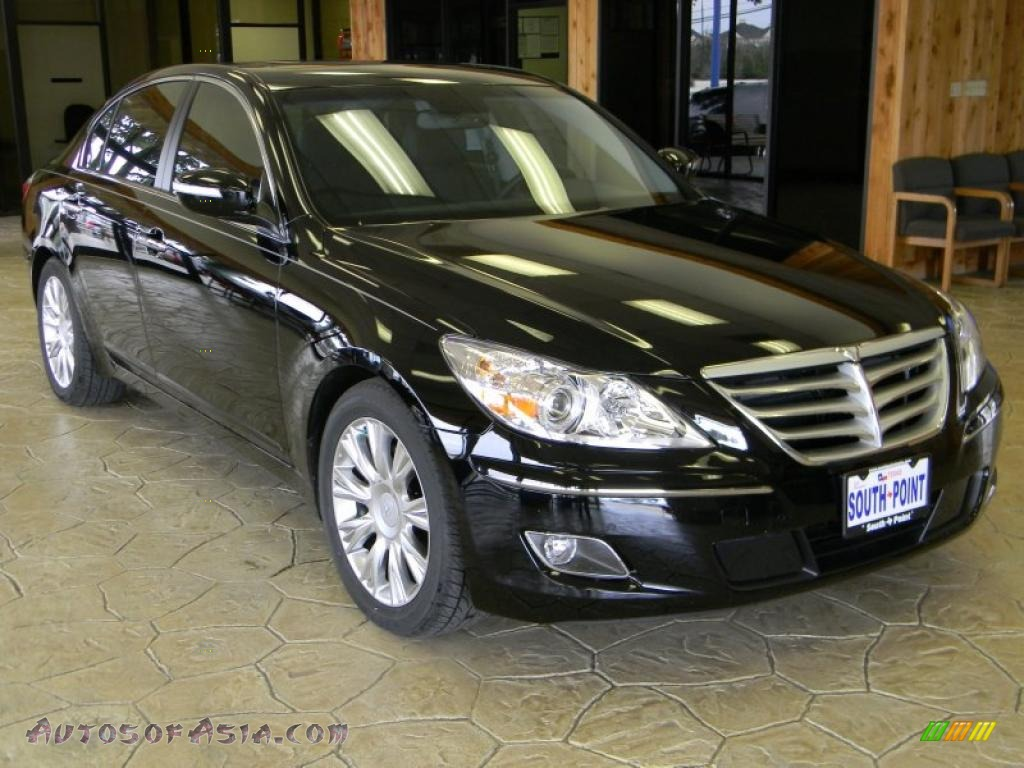 2010 hyundai genesis 3 8 sedan in black noir pearl photo 11 077192 autos of asia japanese. Black Bedroom Furniture Sets. Home Design Ideas