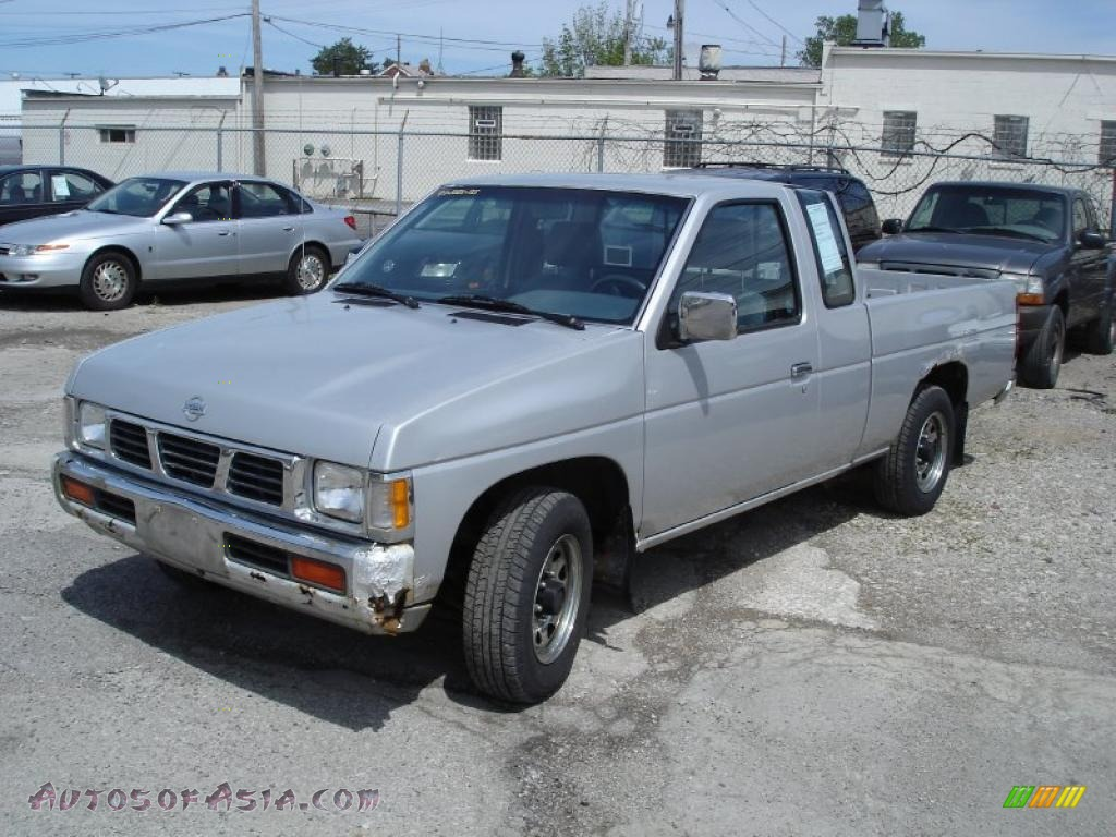 1993 nissan hardbody truck regular cab in platinum metallic 300189 autos of asia japanese. Black Bedroom Furniture Sets. Home Design Ideas
