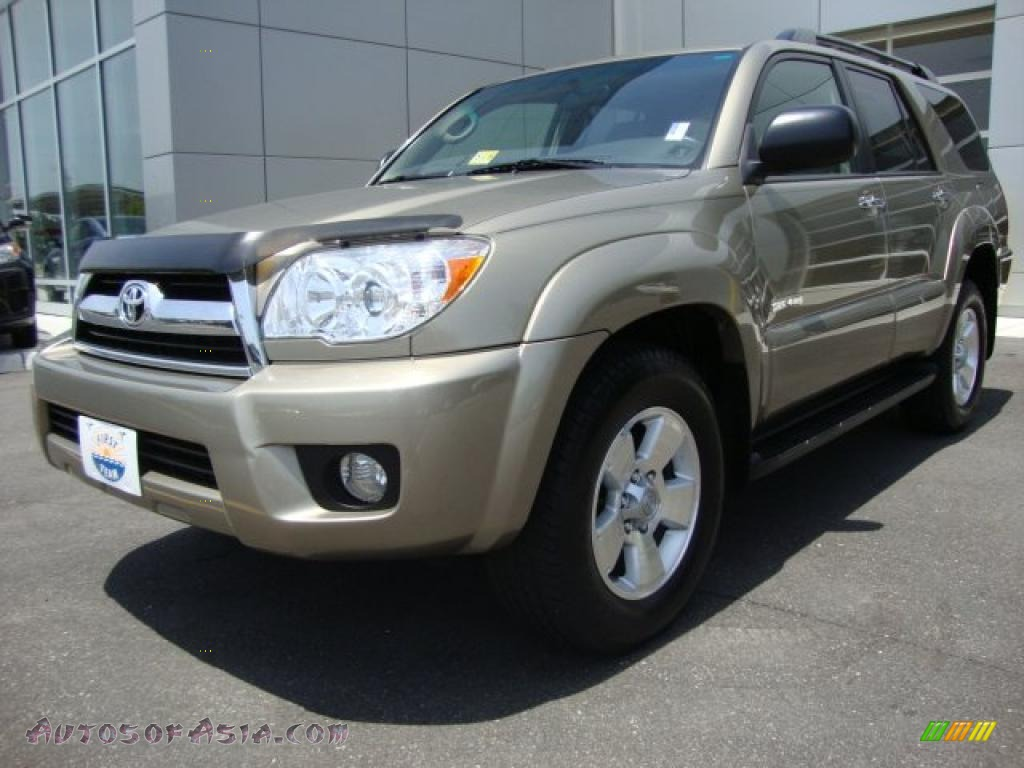 2007 toyota 4runner sr5 4x4 in driftwood pearl 097686 autos of asia japanese and korean. Black Bedroom Furniture Sets. Home Design Ideas