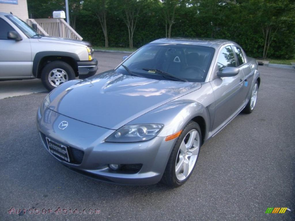 2004 mazda rx 8 sport in titanium gray metallic 113086 autos of asia japanese and korean. Black Bedroom Furniture Sets. Home Design Ideas