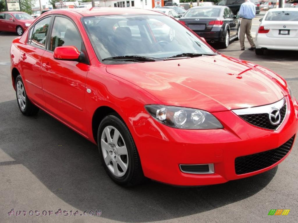 Image Gallery 2007 Mazda 3 Red