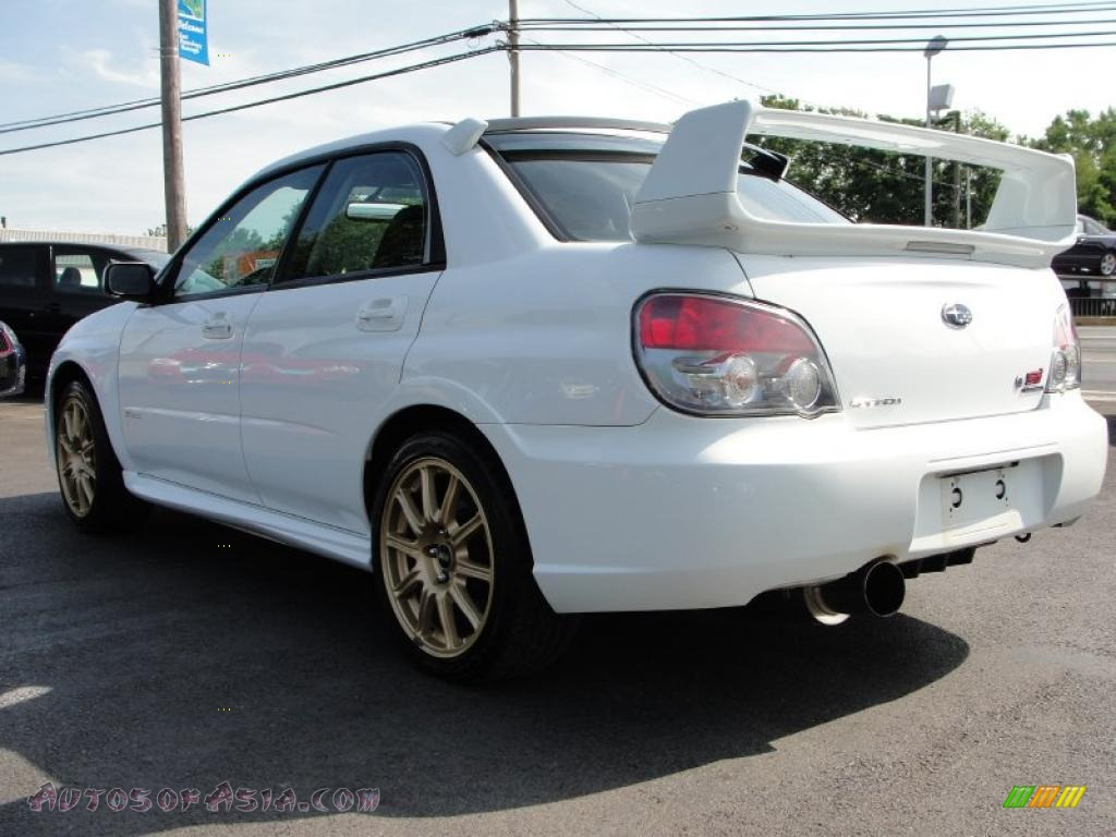 2006 Subaru Impreza Wrx Sti In Aspen White Photo 3