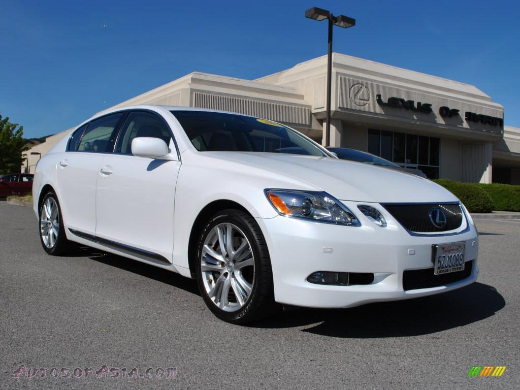 2007 lexus gs 450h hybrid in glacier frost mica 008110 autos of asia japanese and korean. Black Bedroom Furniture Sets. Home Design Ideas